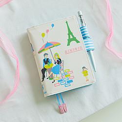 Hobonichi Techo Planner A6 2022 Set - Omiya Yogashiten Shall we have some tea? (English / A6 / January Start / Book + Cover)