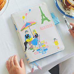 Hobonichi Techo Cousin A5 2022 Set - Omiya Yogashiten - Shall we have some tea? (Japanese / A5 / January Start / Book + Cover)