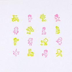 Hobonichi Shinsuke Yoshitake Today's Adventure Stamp (Outside)