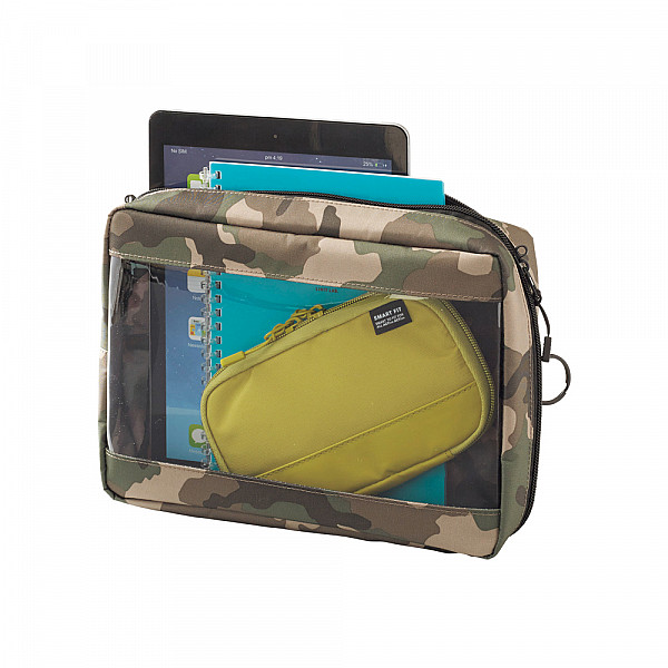 LIHIT LAB Smart Fit Clear Box Pouch