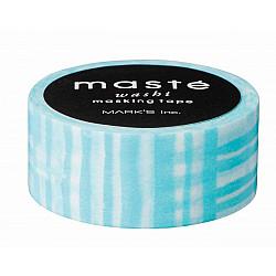 Mark's Japan Maste Washi Masking Tape - Sky Blue Brush (Limited Edition)