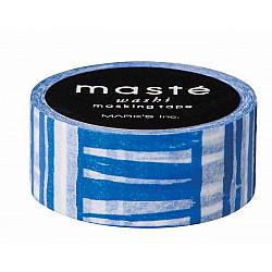Mark's Japan Maste Washi Masking Tape - Navy Brush (Limited Edition)