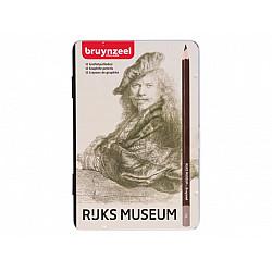 Bruynzeel Hollandse Meesters - Rembrandt - Grafietpotloden - Set van 12