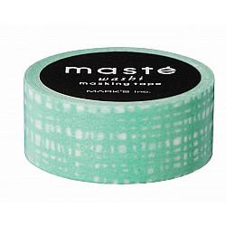 Mark's Japan Maste Washi Masking Tape - Green Brush (Limited Edition)
