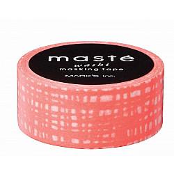 Mark's Japan Maste Washi Masking Tape - Orange Brush (Limited Edition)
