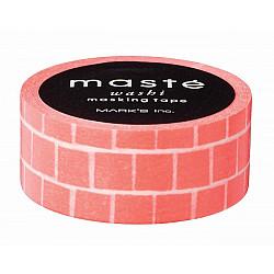 Mark's Japan Maste Washi Masking Tape - Orange Block (Limited Edition)