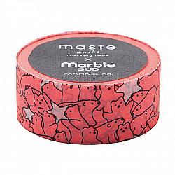 Mark's Japan Maste Washi Masking Tape - Polar Bear (Marble Sud x Maste Limited Edition)