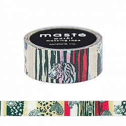 Mark's Japan Maste Washi Masking Tape - Safari  (Limited Edition)