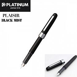Platinum Plaisir PGB-1000 Vulpen - 0.3 Fijn - Black Mist