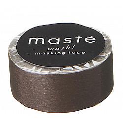 Mark's Japan Maste Washi Masking Tape - Colorful Basic Brown (Limited Edition)