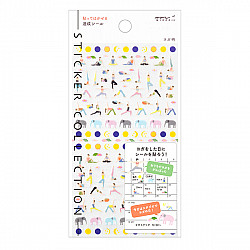 Midori Sticker Collection - Yoga