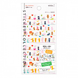 Midori Sticker Collection - Diet Animals
