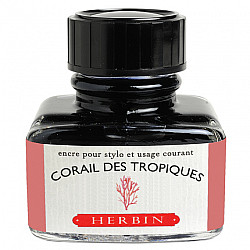 J. Herbin Inktpot - 30 ml - Corail des Tropiques