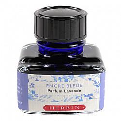 J. Herbin Vulpen Inkt - 30 ml - Viooltjes Blauw - Met lavendel geur