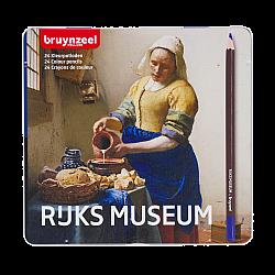 Bruynzeel Hollandse Meesters Kleurpotloden - Vermeer Het Melkmeisje - Set van 24