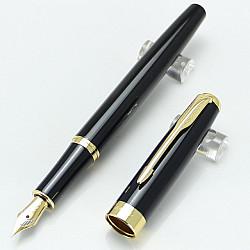 Baoer 388 Vulpen - Medium - Zwart Goud