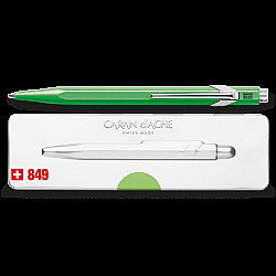 Caran d'Ache 849 Popline Ballpoint - Neon Green