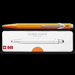 Caran d'Ache 849 Popline Ballpoint - Neon Oranje
