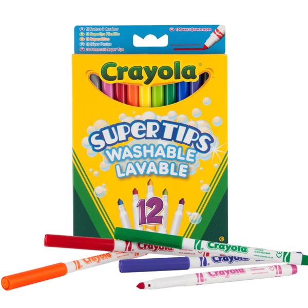 Crayola Supertips Uitwasbare Viltstiften