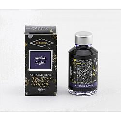Diamine Shimmering Vulpen Inkt - 50 ml - Arabian Nights