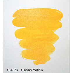 Diamine Drawing & Calligraphy Inkt - 30 ml - Canary Yellow