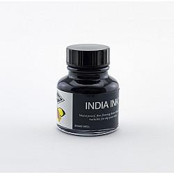 Diamine India Inkt - 30 ml - Zwart