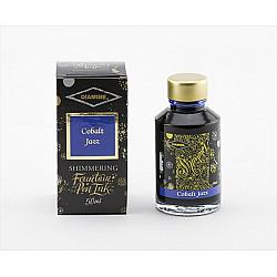 Diamine Shimmering Vulpen Inkt - 50 ml - Cobalt Jazz