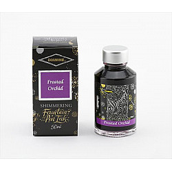 Diamine Shimmering Vulpen Inkt - 50 ml - Frosted Orchid