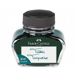 Faber-Castell Vulpen Inktpot - 30 ml - Turquoise