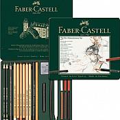 Faber-Castell Pitt Houtskool Potloden