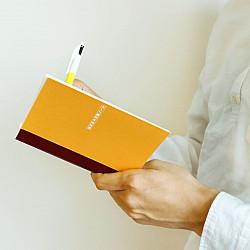 * Hobonichi Plain Notebook - Tomoe River paper - A5