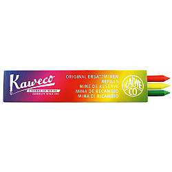 Kaweco Clutch Vulpotlood Vulling - 5.6 mm - Highlighter Mix (Geel, Oranje, Groen) - Set van 3