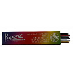 Kaweco Clutch Vulpotlood Vulling - 3.2 mm - 2xGroen 2xBlauw 2xRood (Set van 6)