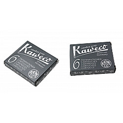 Kaweco DIN formaat Vulpen Vullingen - Set van 6 - Smokey Grey