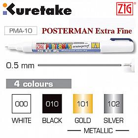 Kuretake ZIG Posterman Marker (Extra Fijn)