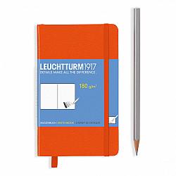 Leuchtturm1917 Sketchbook - Pocket A6 - Oranje