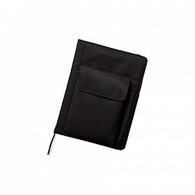 LIHIT LAB Smart Fit Cover Notebook - A5 - Zwart