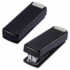 LIHIT LAB M-20 Opvouwbare Mini Nietmachine - 10 pagina's - Zwart
