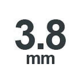 3.8 mm