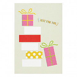 Mark's Japan With Maste Decoration - gift card set - Just For You