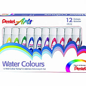 Pentel Water Colours Tubes Sets