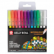 Sakura Gelly Roll Moonlight Fluorescent