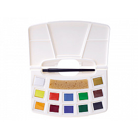 Talens Art Creation Water Colour Pocketbox - 12 kleuren
