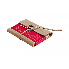 Transotype senseBook FLAP Notebook - Klein - 9 x 14 cm - Blanco