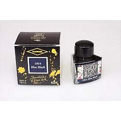 Diamine 150th Anniversary Vulpen Inkt - 40 ml - 1864 Blue Black (Limited Edition)