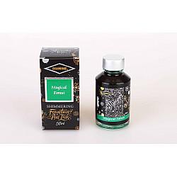 Diamine Shimmering Vulpen Inkt - 50 ml - Magical Forest