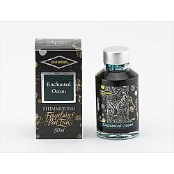 Diamine Shimmering Vulpen Inkt - 50 ml - Enchanted Ocean