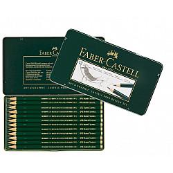 Faber-Castell 9000 Grafiet Potlood - Design Set van 12