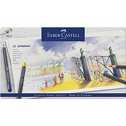 Faber-Castell Goldfaber Creative Studio Kleurpotloden - Set van 36