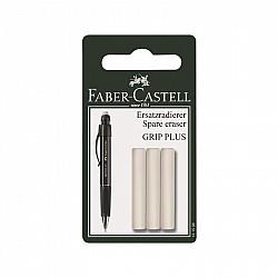 Faber-Castell Grip Plus Ergonomisch Vulpotlood Reserve Gum - Set van 3
